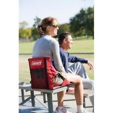 Padded Stadium Seat Water Resistant Picnik Camping Chair Red Easy Folding