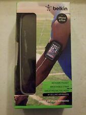 Belkin Sport-Fit Plus Armband for Apple iPhone 6 Plus, 6S Plus black - NEW