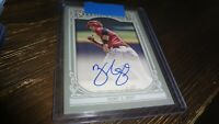 2013 TOPPS GYPSY QUEEN ZACK COZART   AUTOGRAPHED BASEBALL CARD