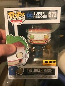 Funko Pop! The Joker Hot Topic Exclusive DC Batman Villain HT