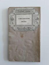 Ancienne carte toilee 1839/ROUTES DE POSTES FRANCE/Tardieu