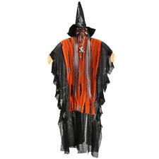 Miedo Halloween Colgante Puntales Decoración Voz Luz Ojo Cráneo Esqueleto Fiesta