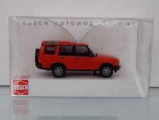 Busch 51900 - H0 1:87 - Land Rover Descubrimiento, rojo - Nuevo en EMB. orig.