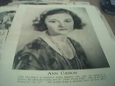 book picture film - 1932 - actress ann casson