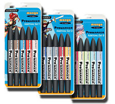 Letraset Promarker Marker Pen Manga Additions Set 1,2,3