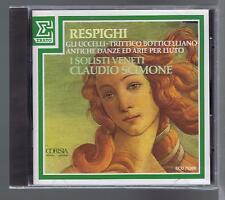 CLAUDIO SCIMONE CD NEW RESPIGHI GLI UCCELLI ERATO