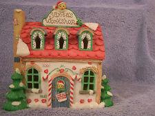 Santa's Workshop Night Light #141925 Cherished Teddies NIB