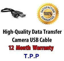USB Camera Lead Cable Fuji Fujifilm FinePix A100 A150 A170 A850 A860 AX245W F20