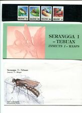 MALAYSIA PRESENTATION PACK * INSECTS 1 WASPS # 706