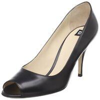 $410 NEW D&G Dolce & Gabbana US 9.5 EUR 40 Black High Heels Pumps Shoes~Classy
