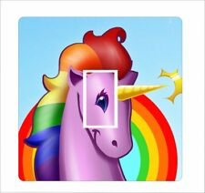 Unicorn 5 - Light Switch Sticker vinyl cover skin decal