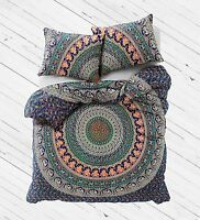 Indian Duvet Doona Cover Multi color Mandala Bohemian New size new Quilt
