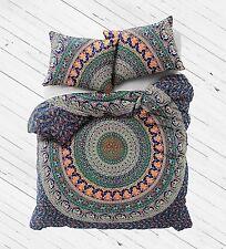 Indian Duvet Doona Cover Multi color Mandala Bohemian New size new Quilt