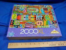 Mega Puzzles 2000 XL pc Antique Address House Numbers Art Paint Rustic Complete