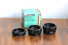 HANIMEX Automatic Extension Tube for Pentax M42 screw mount  - complete set
