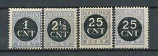 Nederland port  61 - 64 postfris