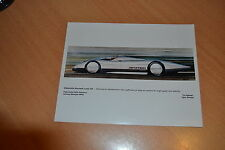 PHOTO DE PRESSE ( PRESS PHOTO ) Oldsmobile Aerotech de 1987 GM004