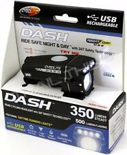 CygoLite Dash 350 USB Rechargeable LED Bike Headlight Light Road MTB Commuter