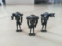 LEGO - Star Wars - x3 SUPER BATTLE DROIDS SQUAD - mini figure - sw092