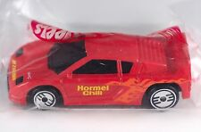 Hot Wheels Promo Hormel Chili Zender Fact 4 Red 1995 NIP
