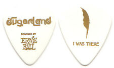 SUGARLAND Guitar Pick : 2011 Tour - I Was There ernie ball feather bright white