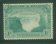 "RHODESIA - 1905 1/- ""Waterfall"" fine LHM (ES412b)"