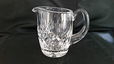 """Waterford Crystal Lisemore Creamer 3 3/4"""" MINT Signed"""