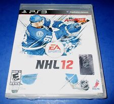 NHL 12 PS3 Brand New (Torn Packaging) *Free Shipping!