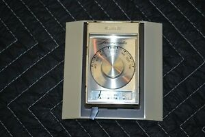 Vintage SEARS Custom Automatic Wall Thermostat T8027A 1021 1 42 541 9235 MCM