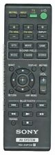 Original SONY Remote Control for SAWCT260H Component Active Subwoofer
