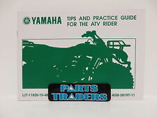 Genuine Yamaha Tips & Practice Guide For The ATV Rider