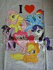 "My Little Pony ""I Love My Classic Ponies"" Mens Medium Adult Unisex T-Shirt -New"