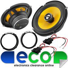 """Seat Leon MK2 05-11 JL Audio 2 Way 450 Watts 17cm 6.5"""" Rear Door Car Speakers"""