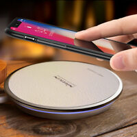 Magic Fast Qi Wireless Charger Pad For iPhone XS/Max/XR/X/8/Plus Galaxy S10/S9/+