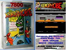 XENOPHOBE - Bally Midway 1989 - PAL - ATARI 7800 - NEW - NUEVO NEU Sealed Alien