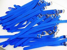 PROMO 20 Bracelet Montre Watch Bands Nylon Tressé Style Nato 8 mm Bleu L 22 cm