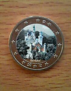 "2 euro couleur Allemagne 2012- ""Bayern"""