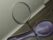RARE Yonex Badminton Racket Aerotus 100 Widebody w/ Case CLASSIC!