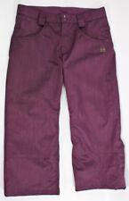 DC Exotex 5k Series Snowboard Baggy Ski Pants Women's Size Large Purple