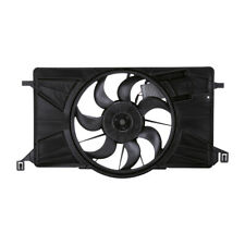 Dual Radiator and Condenser Fan Assembly TYC 622800 fits 12-18 Ford Focus