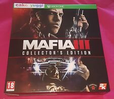 MAFIA III COLLECTOR'S EDITION XBOX ONE NEUF VERSION FRANCAISE NEUF NEW