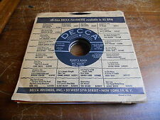 Bill Haley & Comets 50s INSTRUMENTAL 45 Rudy's Rock / Blue Comet Blues