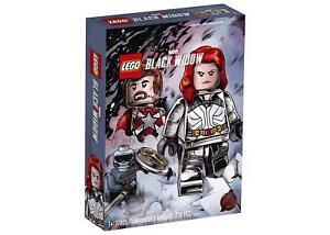 LEGO Marvel Avengers Taskmaster's Ambush Exclusive Black Widow SDCC Set 77905
