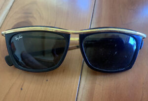 RAY BANS VINTAGE 70s, GOLD.