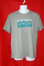 Men's Size M LIFE IS GOOD AIR STRM Stream enjoy the ride Plate Shirt Gray NWT