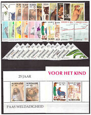 Surinam / Suriname 1991 complete year issue MNH