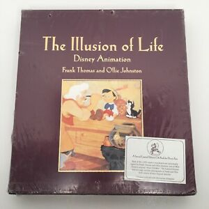 The Illusion of Life Disney Animation Signed Limited Edition of 3500 sealed! NEW
