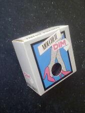 """Gemusterte Feintrumpfhose von DIM """"Mouchette"""" Farbe braun - 20 den - OVP  Gr.1"""