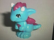 Lego Dragon Baby with Magenta Belly, Spines Wings and White Horns Pattern Miku
