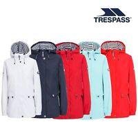 Trespass Flourish Women Female Waterproof Jacket Casual Raincoat